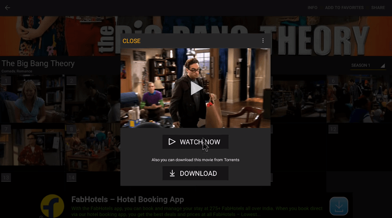 Showbox Free Movies App for Android 5