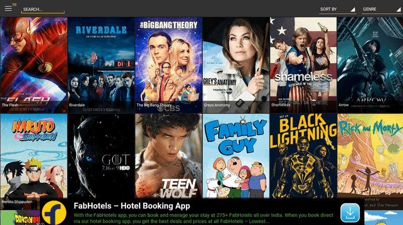 Showbox Free Movies App for Android 6