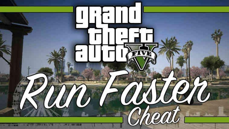 Fast Run Cheat GTA 5 PS4