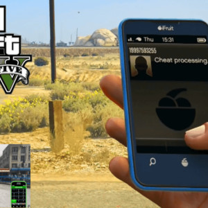 GTA 5 Cheats PS4 Phone All Weapons