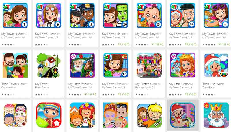 My Town Free Games