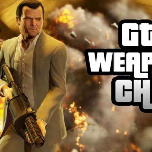 GTA 5 Cheats PS4 Guns