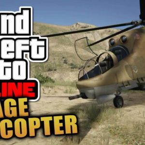 Helicopter Cheat GTA 5 PS4